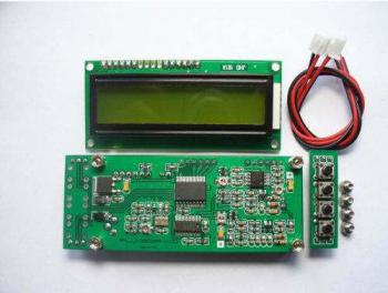 High Accuracy RF 0.1-1100 MHz 0.1-1.1 GHz Frequency Counter Tester meter measurement For ham Radio Digital lcd meter